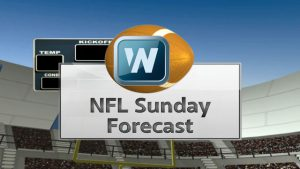 Wet Weather Makes For Sloppy NFL Games