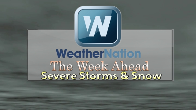 Severe T-Storms, Blowing Snow and a Temperature Rollercoaster!