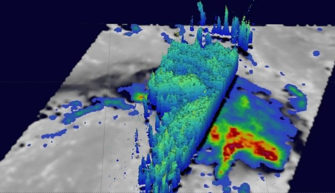 NASA Measures Rainfall in Newborn Tropical Cyclone Corentin