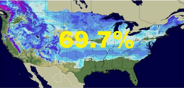 BIG Snow in Texas and Cold Nationally WeatherNation