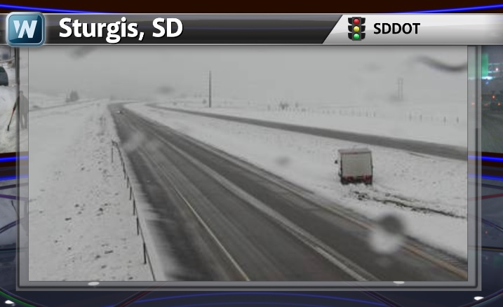 MORE Snow in South Dakota; Heavy Rains in Texas; Colder Moves Moves In This Weekend