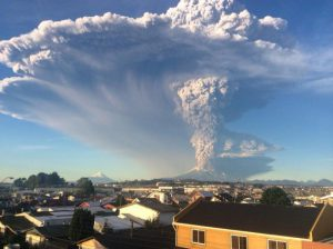 Massive Volcano Eruption in Chile Forces Evacuations