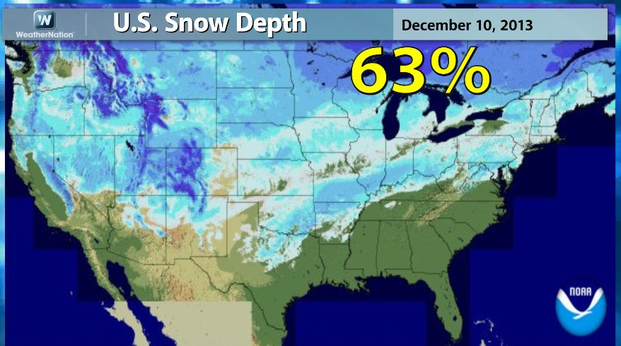 More Cold More Snow WeatherNation - Us snow cover map noaa