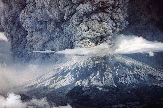 Mount St. Helens Eruption – 36 Years Ago Today