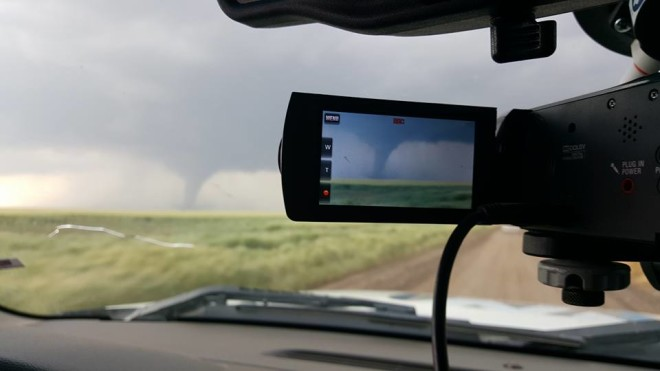What It's Like Being a Storm Chasers? WeatherNation Affiliate 9News Explains
