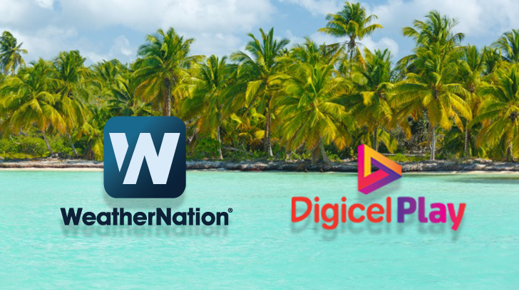 digicel play welcomes weathernation to their channel