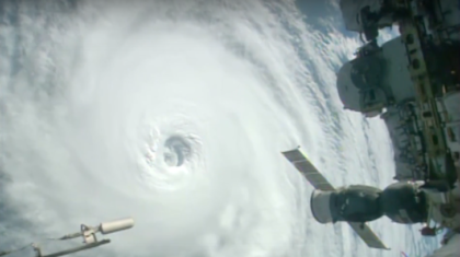 WATCH: Space Station Cameras Capture Tropical Systems in the Pacific and the Atlantic