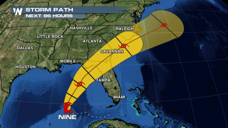 Hurricane Watch Issued Along Florida Gulf Coast