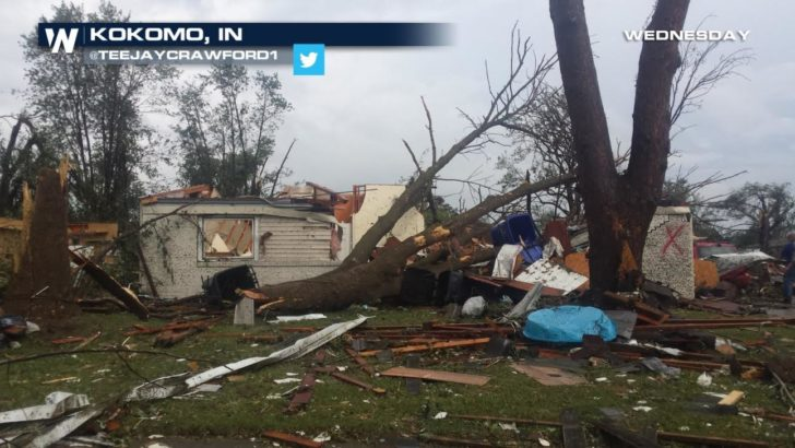 Multiple Tornadoes Reported in Indiana and Ohio