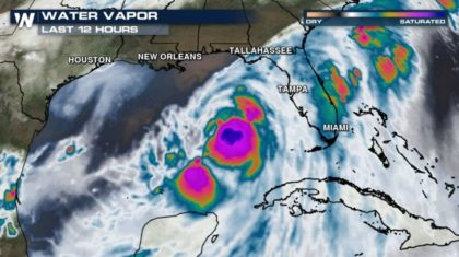 Hurricane Warnings Issued for Parts of Florida