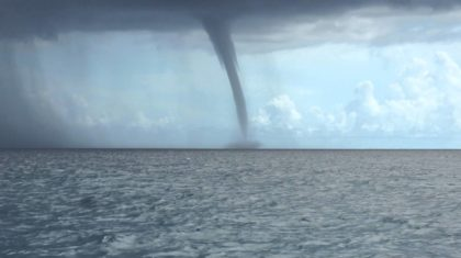 Waterspouts Whirl in North Carolina