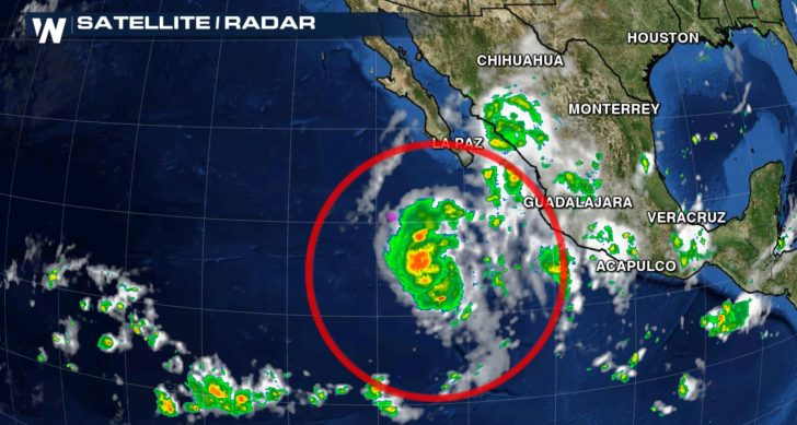 Eastern Pacific Forms Sixteenth Named Storm