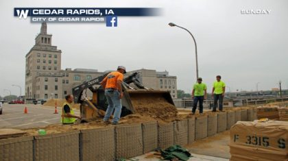 Cedar Rapids Flood Barriers Holding, But Threat Not Over