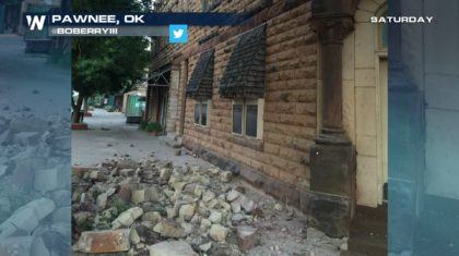 5.6 Magnitude Earthquake Rocks Oklahoma
