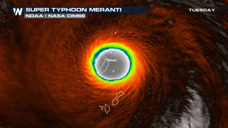 Stuck in the Eye: Itbayat vs. Meranti