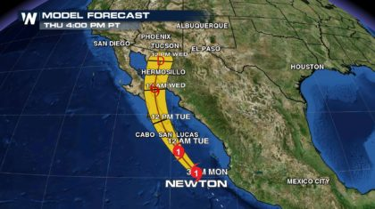 Hurricane Newton and the Impacts for the U.S.