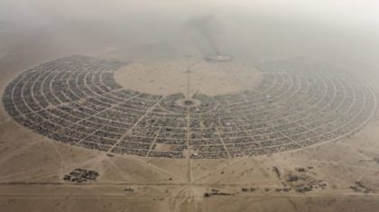 The Extreme Weather at Burning Man