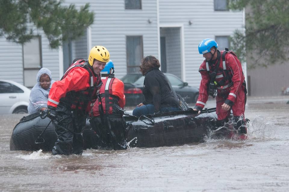 North Carolina Residents Stranded Due to Levee Breach