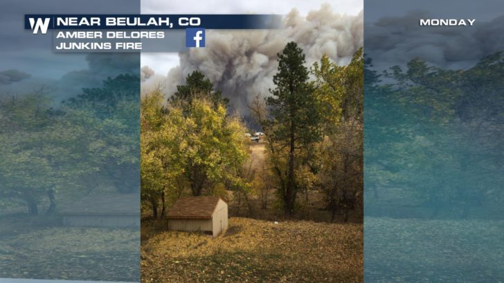 Strong Winds Fuel Rapid Growth of Colorado Wildfire, Homes Threatened