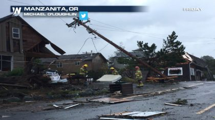 Hurricane Force Winds, Floods, Threaten Northwest U.S.