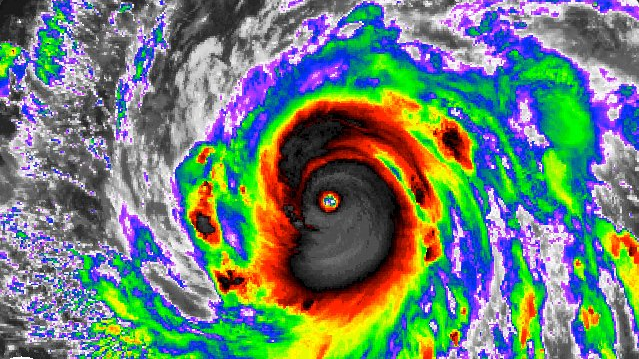 Category 4 Typhoon Haima Makes Landfall in the Philippines