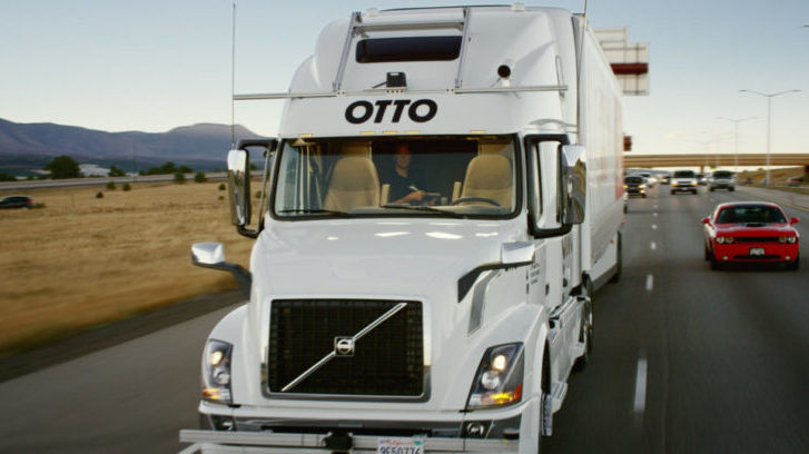 Uber's Otto Self-Driving Truck Delivers Its First Payload of 50K Anheuser-Busch Beers