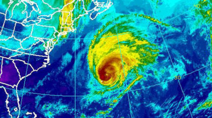 Nicole Makes 'Direct Hit', Instead of 'Landfall'