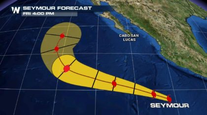 Seymour Expected to Become Major Hurricane