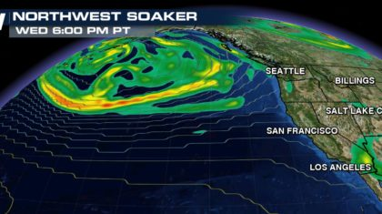 Series of Big Storms Ready to Slam Into Northwest