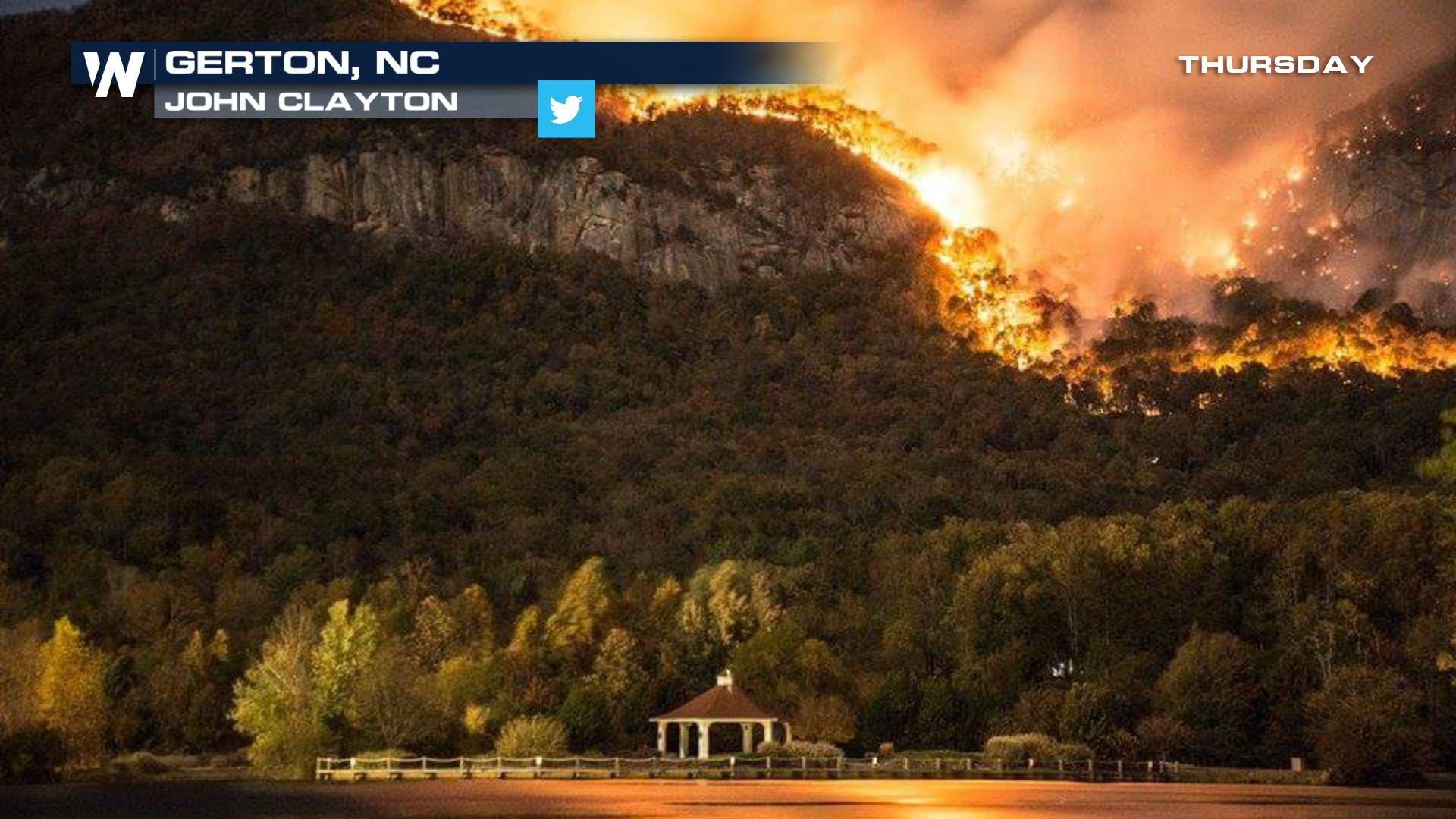 State of Emergency Declared in North Carolina From Wildfires