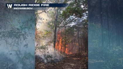 Crews Battle Georgia Wildfire During Severe Drought