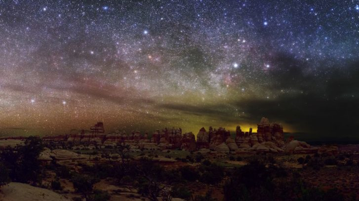 Milky Way Now Hidden from One Third of Humanity