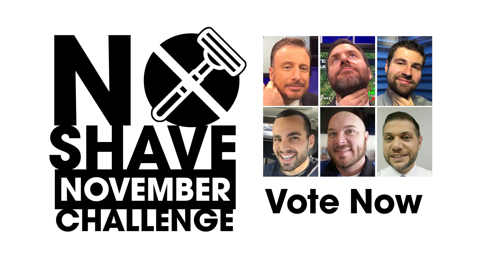 Winner Chosen: WeatherNation's No Shave November Challenge