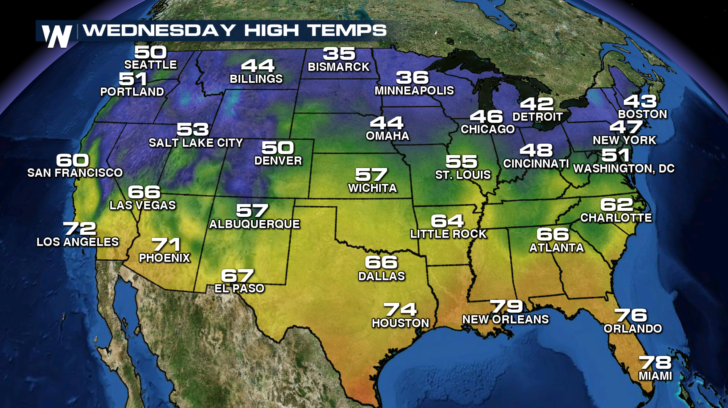 Wednesday Highs