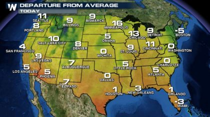 More Record Highs Fall on Sunday