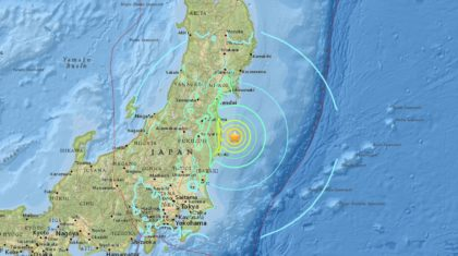 Powerful Earthquake Hits East Coast of Japan