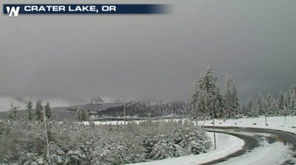 Snowfall Increasing in the Mountains of the West