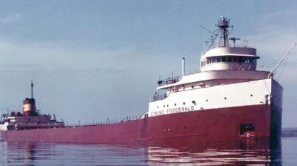 41 Years Ago, the Storm That Sank the Edmund Fitzgerald