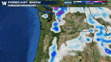 Big Mountain Snows Ahead in the Pacific Northwest