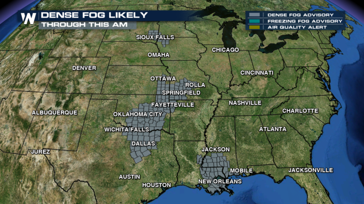 Dense Fog Likely To Cause Issues For Your Christmas Eve Morning