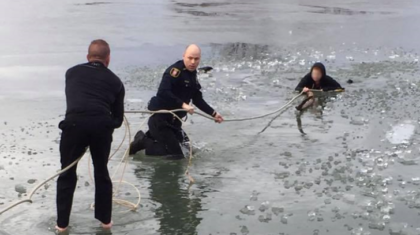 Two Teenagers Fall Through Ice in Moore, Oklahoma Rescued
