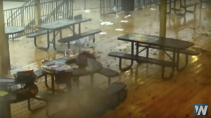 Caught on Camera: Tornado Strikes Atlanta School