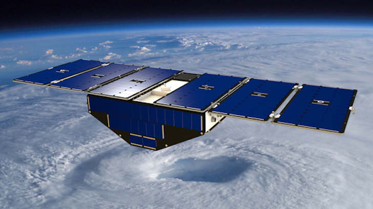 NASA Launches 8-Satellite Constellation to Track Hurricanes from Space (CYGNSS)