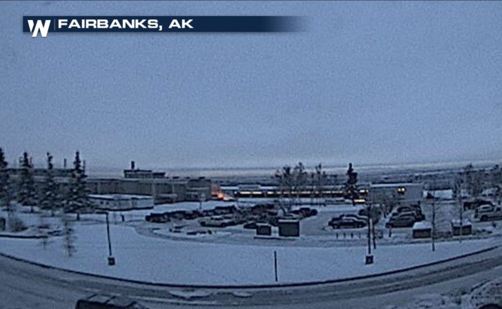 Fairbanks, Alaska Goes Above Zero for First Time in Almost 3 Weeks