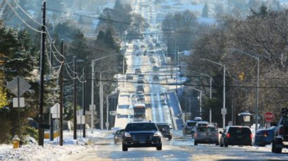 Icy Mix, Snow Headed for Seattle and Portland