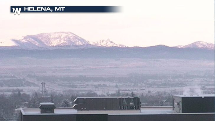 One Tiny Snow Band Leads to Nearly a Foot of Snow in Montana