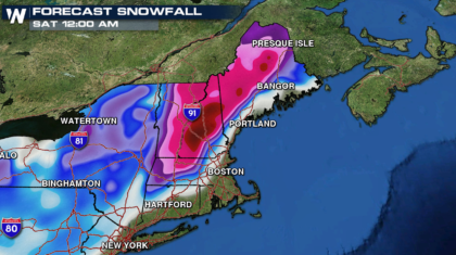 Big Snows Ahead for New England