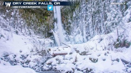 Mountain Snows Continue in the Northwest