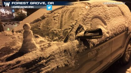 Heavy Snow Continues in the West, Plains Next