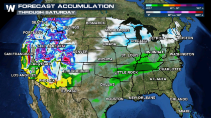 Christmas Holiday Travel Weather Forecast